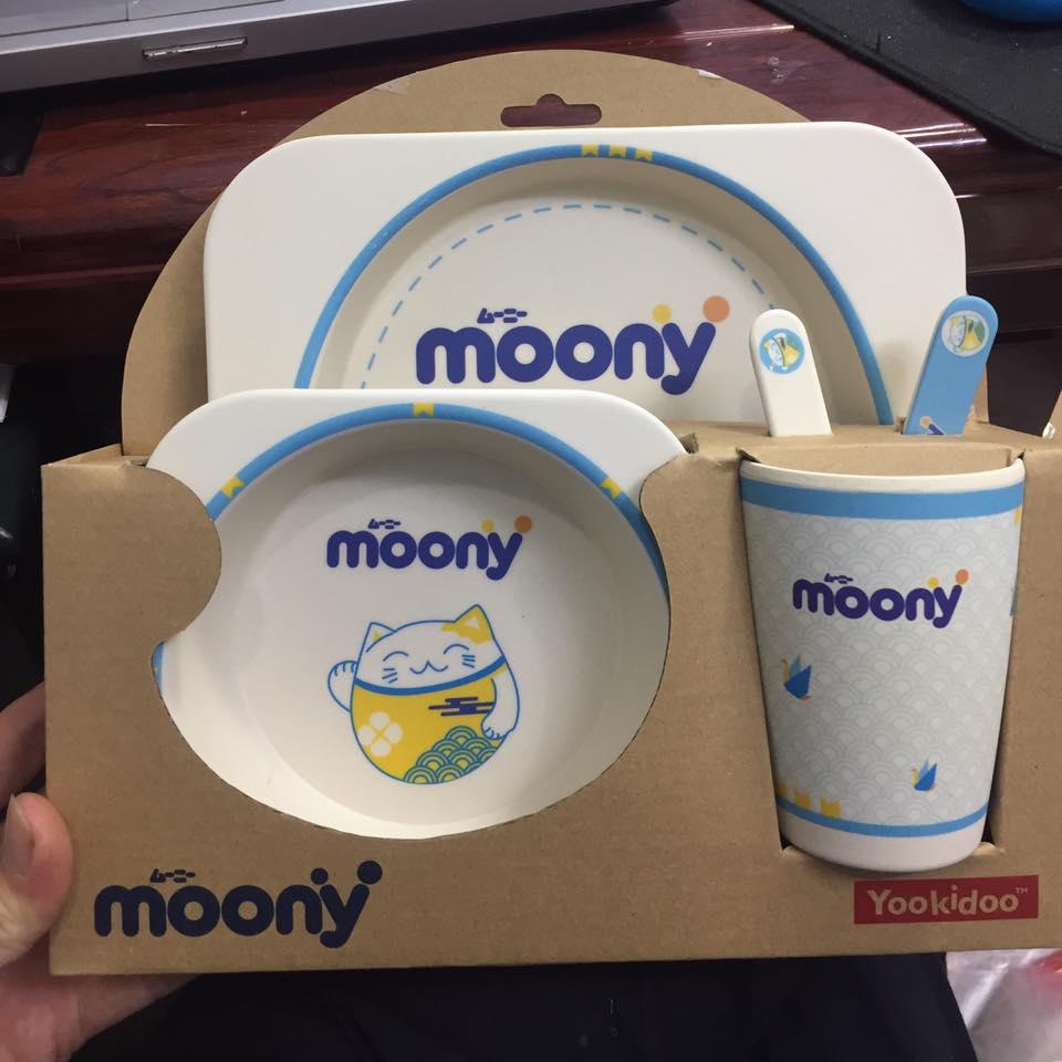 hanh lý bộ bát , cốc thìa dĩa Moony giá 100k