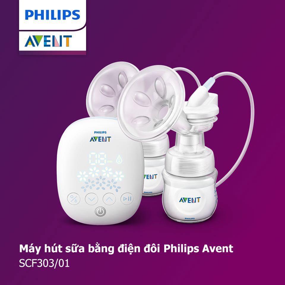 máy hút sữa Philips Avent  Snow hay Hoa Tuyết)